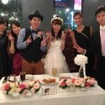 2015.10.10 Hasegawa Wedding Party in HANABI